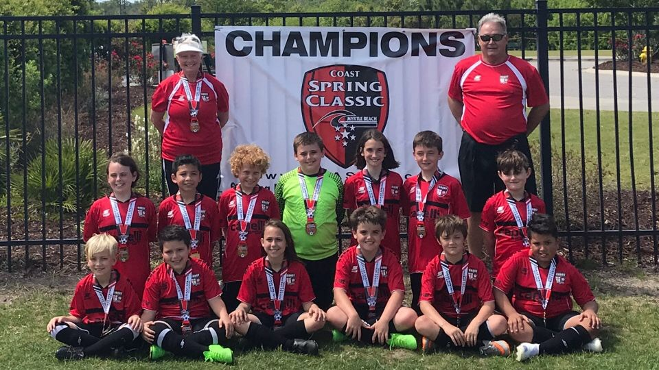 Coast FA Spring Classic Champions and Finalists