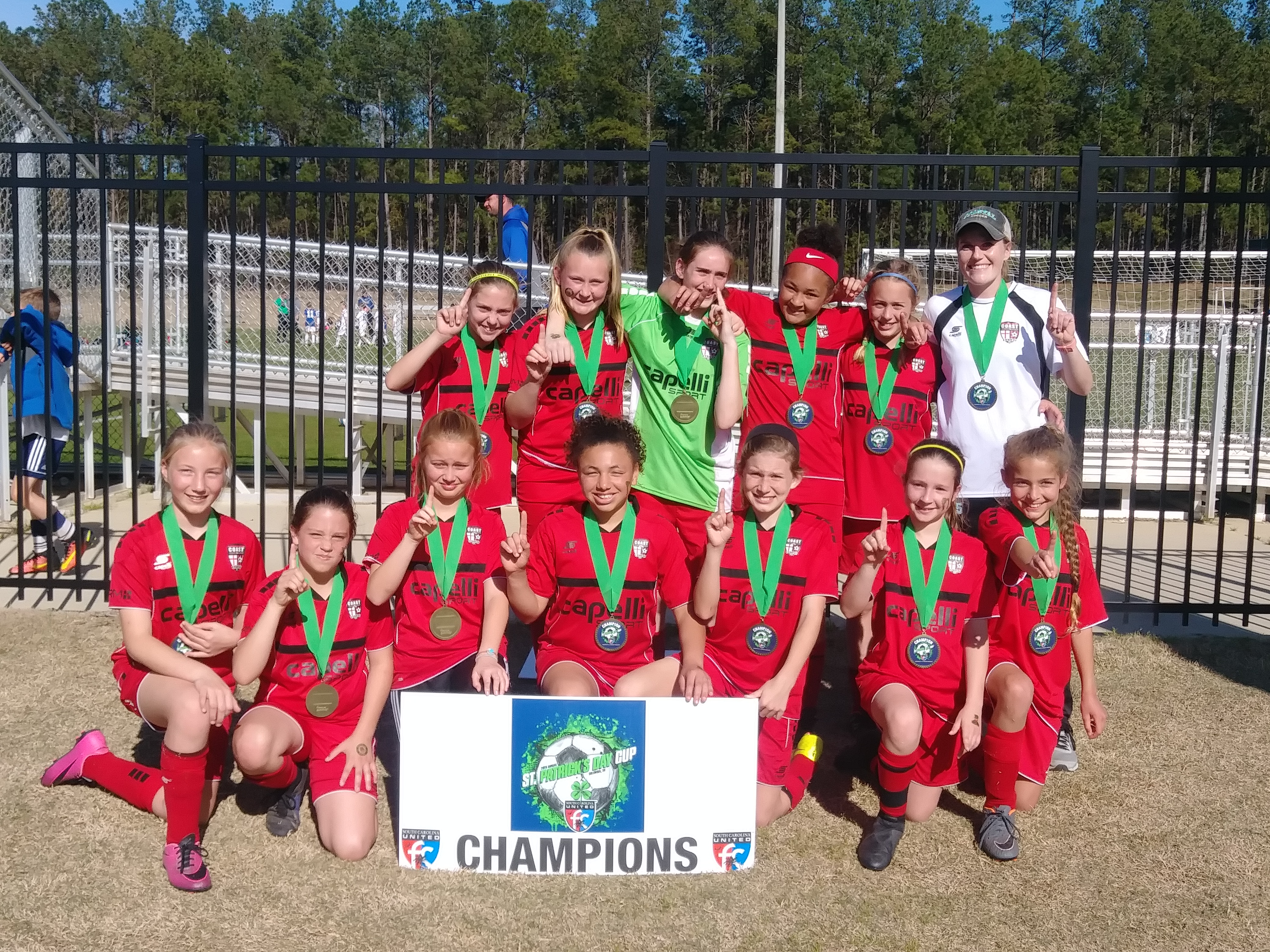 St. Patrick Cup Success