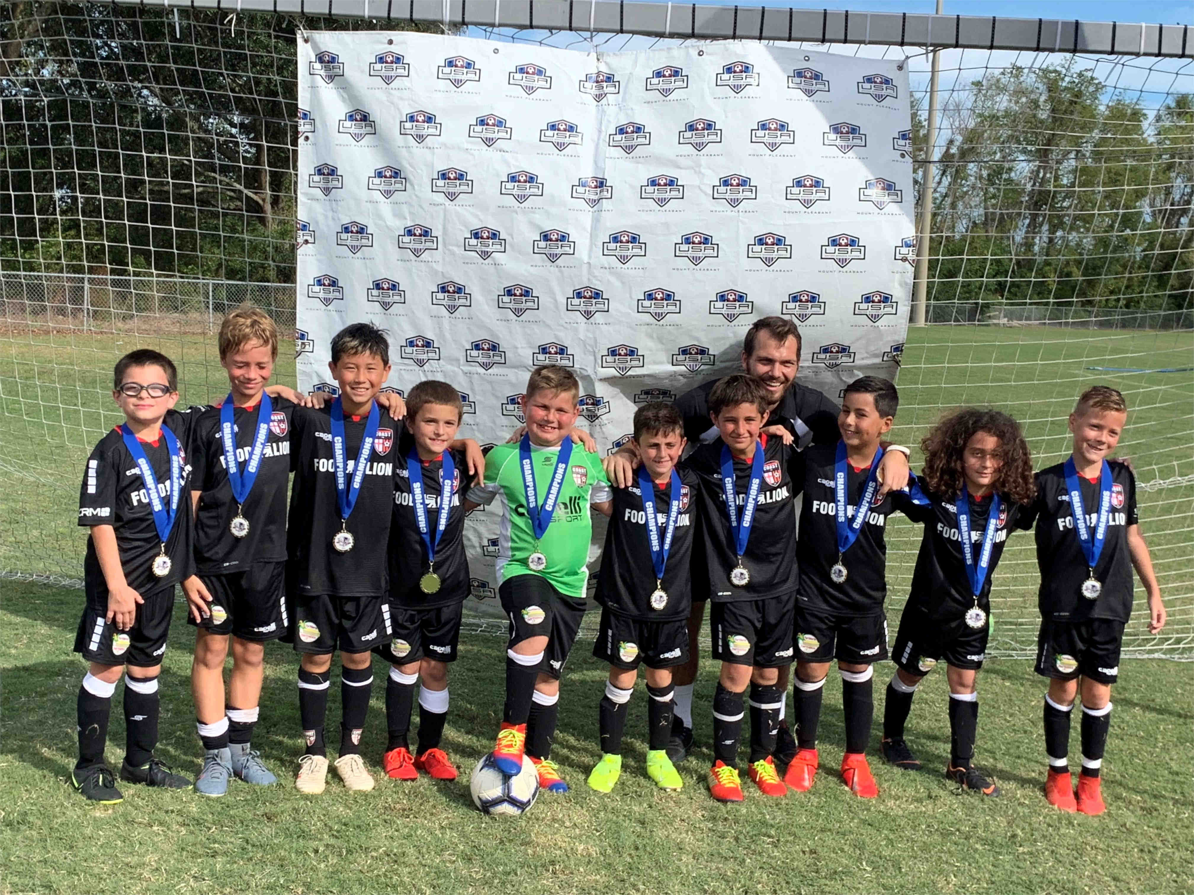 Coast FA Successful at Charleston Shootout