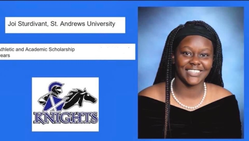 Sturdivant Signs with St. Andrews
